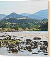 Silt Colorado Wood Print