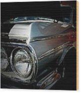Silver Buick Wood Print
