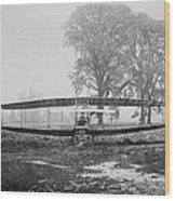 Silver Dart - Aeroplane At Hammondsport 1908 Wood Print