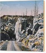 Silver Gate Road Yellowstone Np Wood Print