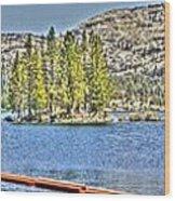Silver Lake 2 Wood Print