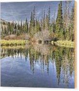 Silver Lake Utah Wood Print