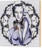 Silverscreenstar Carole Lombard Wood Print