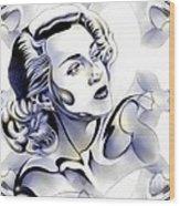 Silverscreenstar Lana Turner Wood Print