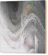 Silvershear Wood Print