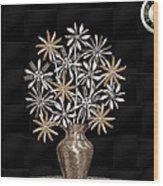 Silverware Bouquet Wood Print