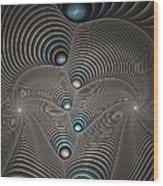 Silverworm Dunes Wood Print