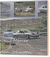 simon Mercer and bredan Johnston Wood Print