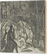 Simon, The Lovelorn Cook, The Fortune Teller Wood Print
