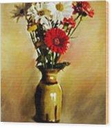 Simple Bouquet Wood Print