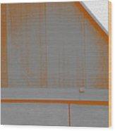 Simple Geometry - 3 Wood Print