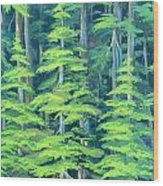 Simple Pleasures Wood Print