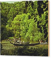 Simpler Times - Central Park - Nyc Wood Print