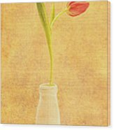 Simplicity -  No Words Wood Print