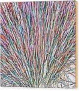 Simply Grass 2 Wood Print