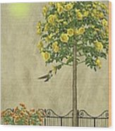Simply Spring Wood Print