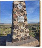 Simpson Springs Pony Express Station Monument - Utah Wood Print