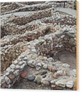 Sinagua Indian Ruins Wood Print
