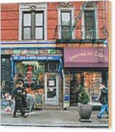 259 Bleecker Street  Wood Print