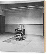Sing Sing Electric Chair Wood Print