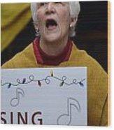 Sing Sing Wood Print