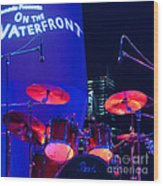 Singapore Drum Set 01 Wood Print