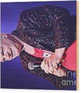 Singer Andy  Bell Wood Print