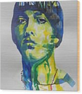 Rapper  Eminem Wood Print