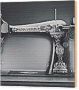 Singer Machine Wood Print