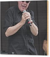 Singer Mitch Ryder Wood Print