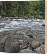 Singing Creek Wood Print