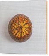 single pejibaye Peach palm Wood Print