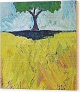 Single Tree Wood Print