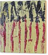 Singled Out Wood Print