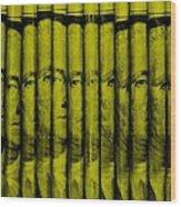 Singles In Yellow Wood Print
