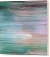 Sinking Souls Wood Print by Munir Alawi