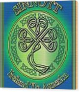 Sinnott Ireland To America Wood Print