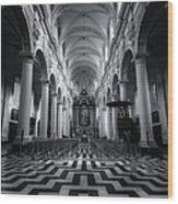 Sint Walburgakerk Wood Print
