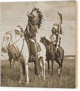 Sioux Chiefs  Wood Print
