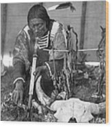 Sioux Medicine Man, C1907 Wood Print by Granger