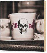 Sip Of Death Wood Print