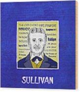 Sir Arthur Sullivan Wood Print