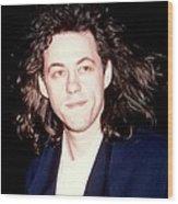 Sir Bob Geldorf 1989 Wood Print