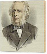 Sir Charles Reed  Educationalist Wood Print