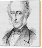 Sir Charles Wood (1800-1885) Wood Print