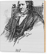 Sir James Young Simpson Wood Print