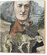 Sir Richard Owen (1804-1892) Wood Print