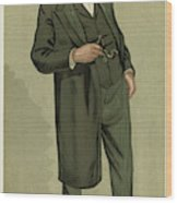 Sir Samuel Wilks  British Physician Wood Print