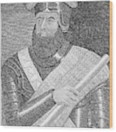 Sir William Wallace (1272?-1305) Wood Print