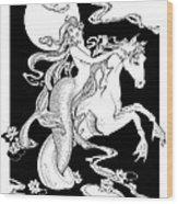 Siren Wood Print
